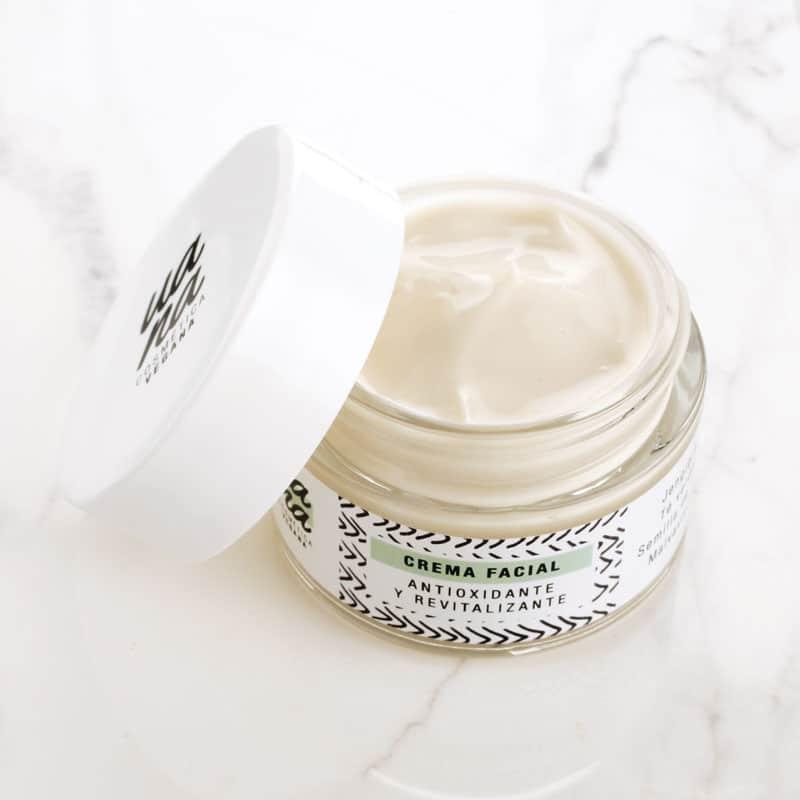 Crema facial hidratante natural - UANA Cosmética