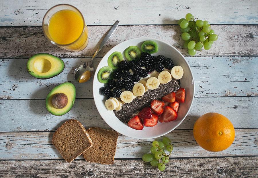 Alimentación saludable para una piel radiante