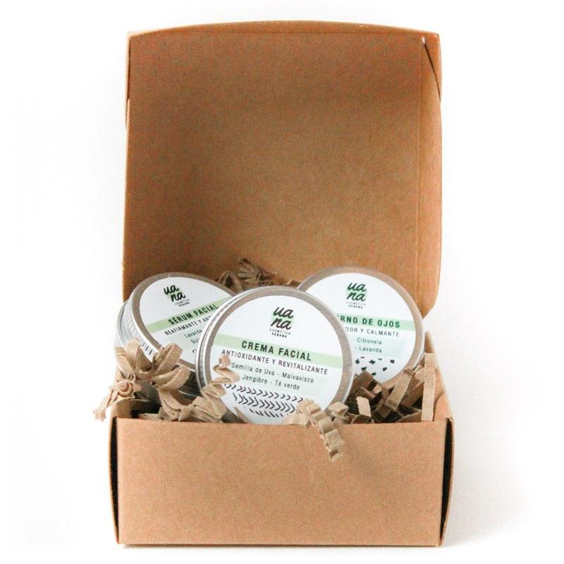 Mini Pack facial hidratante natural - UANA Cosmética