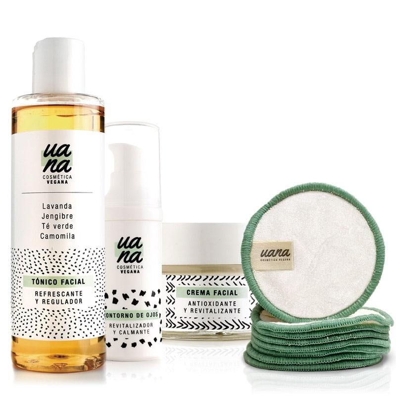 Pack Limpieza e Hidratación piel joven + Discos desmaquillantes reutilizables