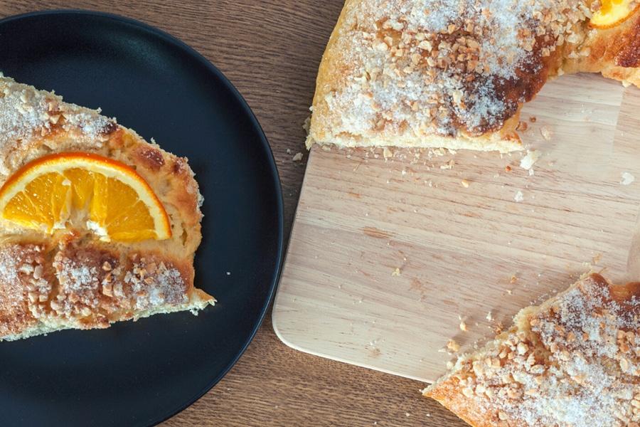 Receta de Roscón de Reyes Vegano
